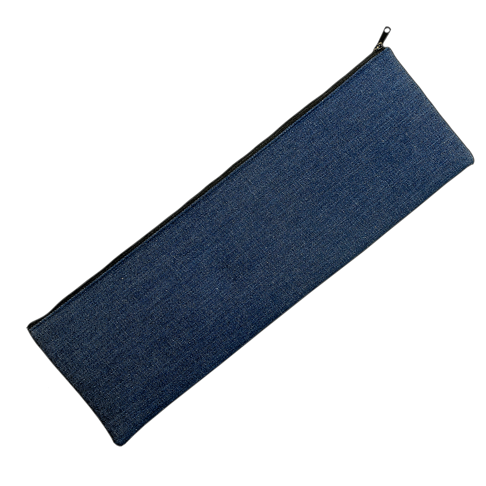 denim tile bag