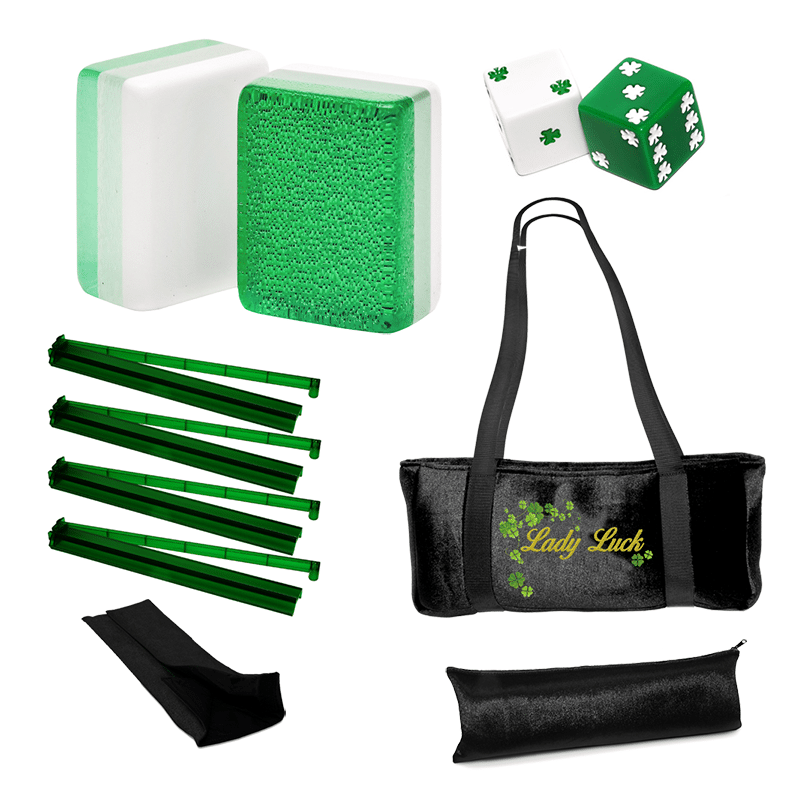 Lucky Lady special value set - mah jongg accessories