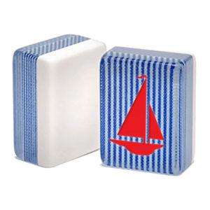 red sailboat mah jongg tile